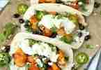 Baked Bang Bang Cauliflower Tacos