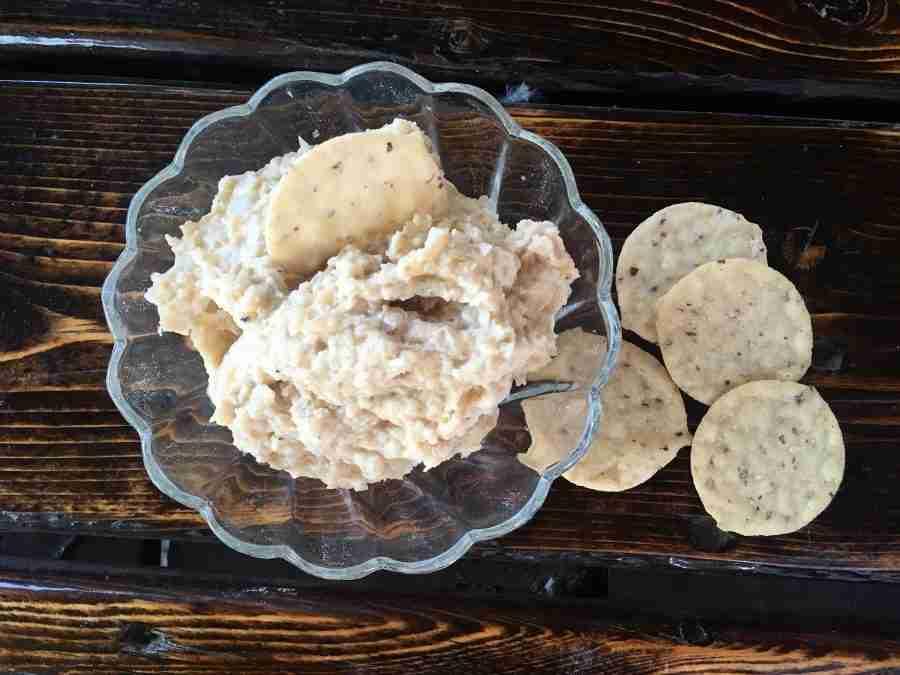 Cauliflower French Onion Dip