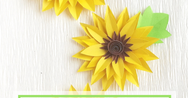 How to Make Paper Sunflowers