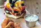 Meatless Monday Pizza Burgers & Buffalo Wings