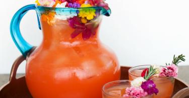 Tropical Flower Rum Punch