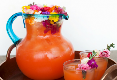Tropical Flower Rum Punch