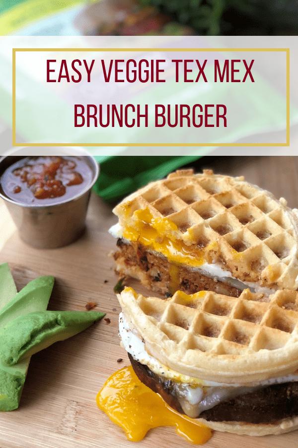 Veggie Tex Mex Brunch Burger