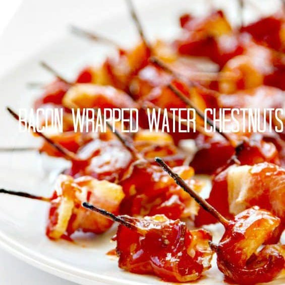 Rumaki | Bacon Wrapped Water Chestnuts
