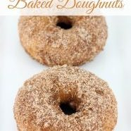 Baked Cinnamon Sugar Donuts | Featured Daily Dish