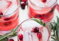 Cranberry Cocktail | Featured Daily Dish