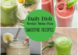 DDR Smoothie Recipes