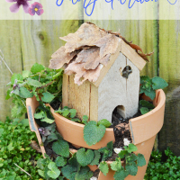 DIY Broken Clay Pot Fairy Garden Tutorial | Daily Dish Magazine