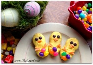 Today's Daily Dish Recipe is Easy Easter Chick Cookies.