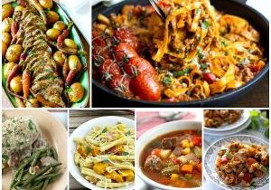 Family Friendly Recipes perfect for dinner tonight featured on Daily Dish magazine