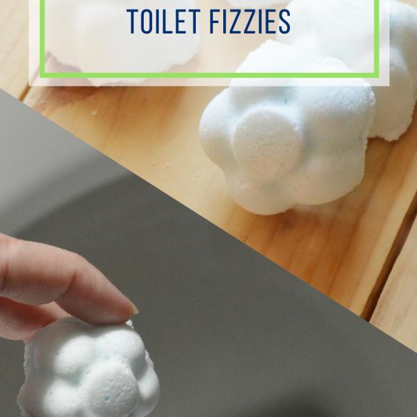 DIY Toilet Refresher Fizzies