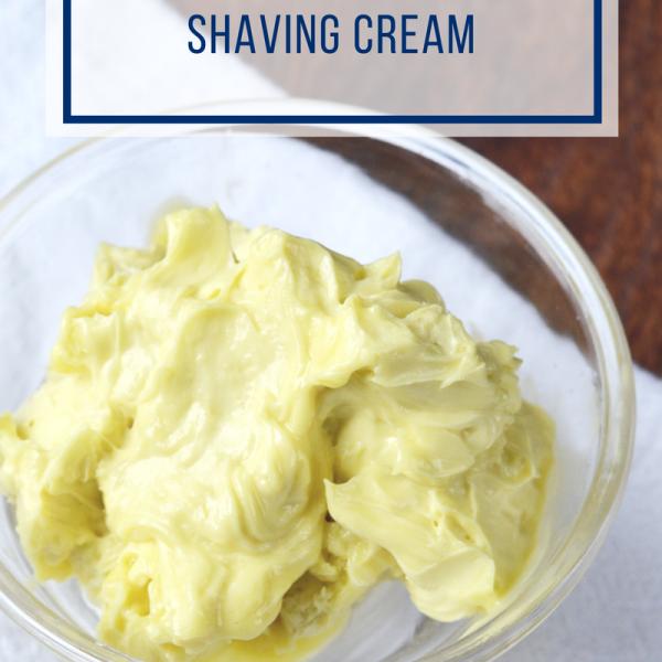His & Hers Homemade Shaving Cream
