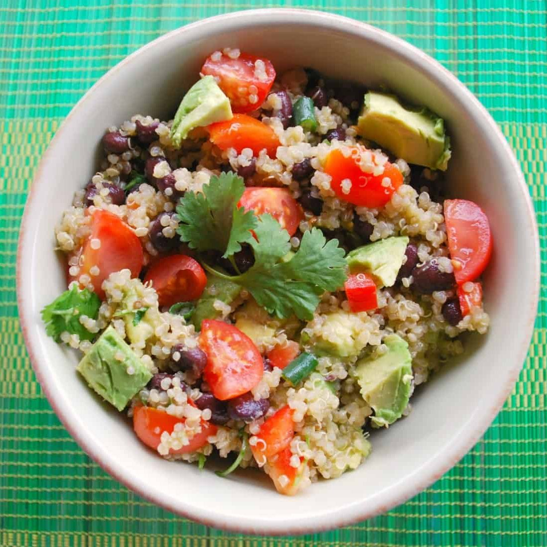 Honey Lime Quinoa Salad