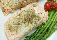 Today's Daily Dish Recipe is Lemon Pepper Salmon.