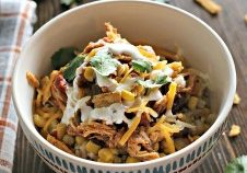 Today's Daily Dish Recipe is Chicken Burrito Bowl.