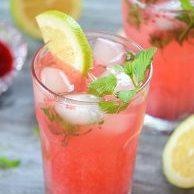 Coconut Raspberry Mojito Recipe   Daily Dish Magazine