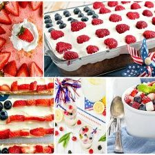 Red White blue Featured