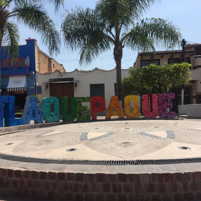 Tlaquepaque, Mexico in an Afternoon
