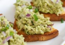 Today's Daily Dish Recipe is Tuna Avocado Tostadas