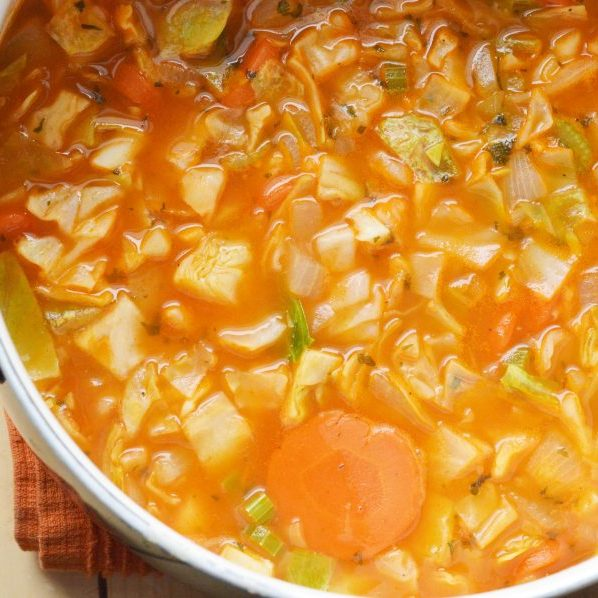 Healthy Cabbage Soup Recipe   Easy Diet Food