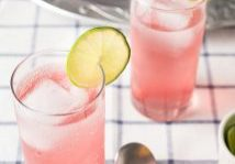 Cherry Cilantro Vodka Spritzer - Daily Dish Recipe