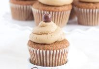 Coffee Cupcakes with Coffee Buttercream Ganache