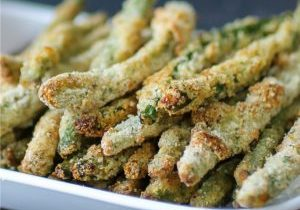 Baked Green Bean Fries | Featured Daily Dish Recipe