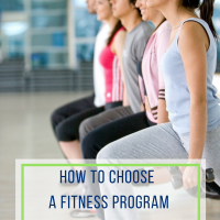 How to Choose a Fitness Program That is Right for You!