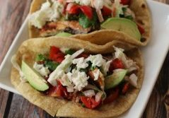 Today's Daily Dish Recipe is Fresh Easy Fish Tacos.