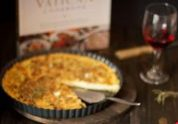 Vatican's Cheese Quiche | Featured Daily Dish
