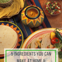 5 Ingredients You Can Make At Home & Save Money