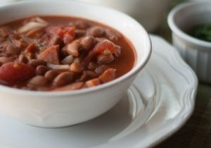 Today's Daily Dish Recipe is Kielbasa Chili.