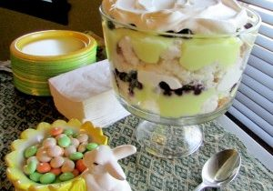 Today's Daily Dish Recipe is Lemon Blueberry Parfait.